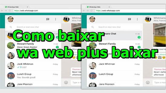 Whatsapp Web Plus: Como usar